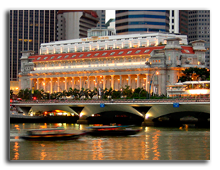 The Fullerton Hotel Singapour