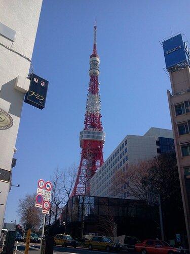 Токийская башня.