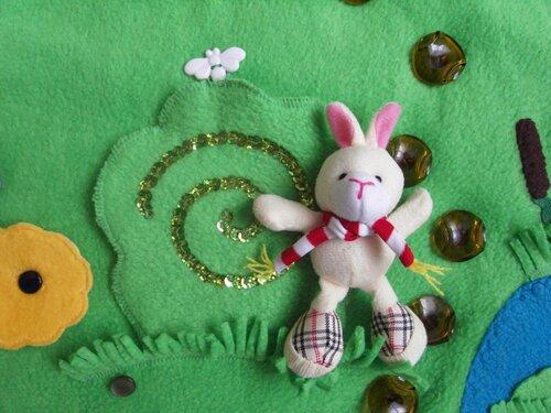 Детские развивающие коврики своими руками... Главный герой