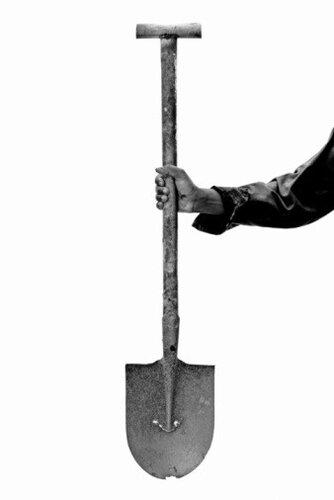 Лопата - инструмент борьбы со старостью