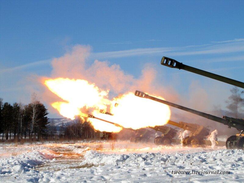 Артиллерия в бою