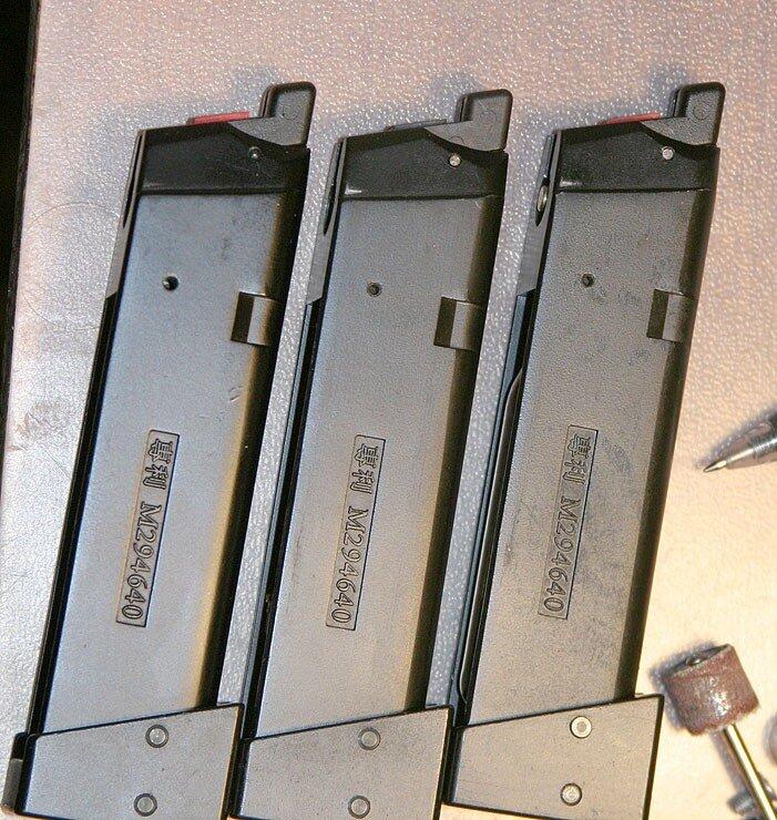 CO2 магазин RA-TECH для KSC Glock 17