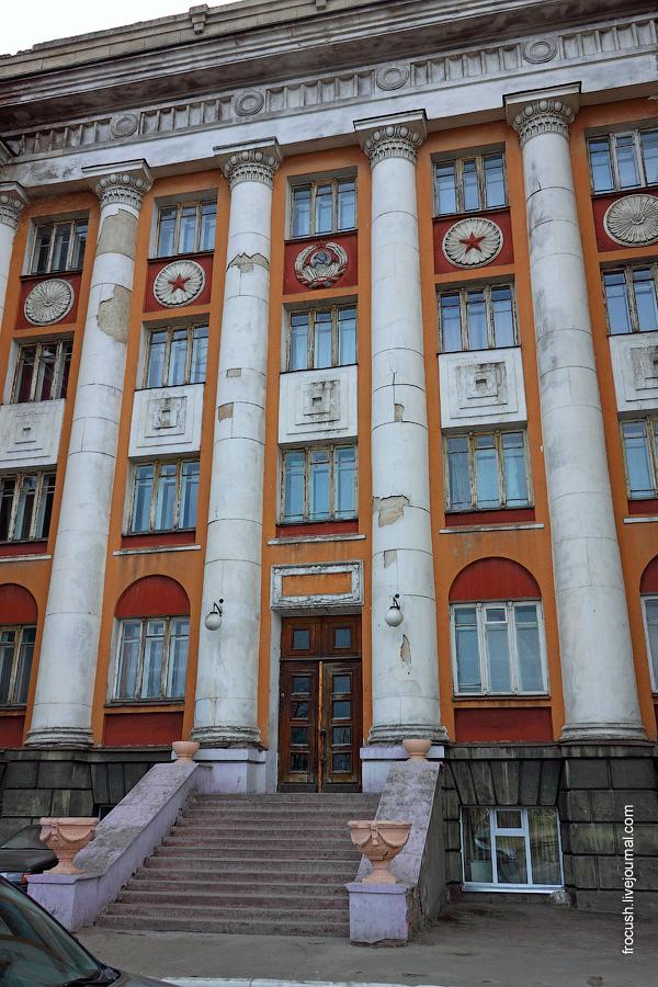 Общежитие иностранного студента (он же Дом Ворошиловских стрелков, он же Дом красных командиров)
