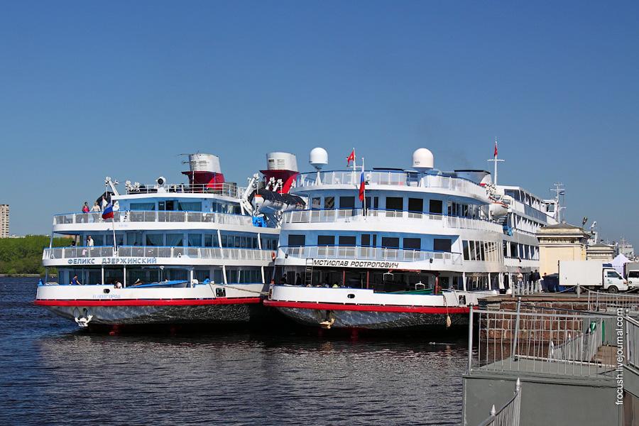 10 мая 2011 года День Феликс Дзержинский в Северном речном порту Москвы