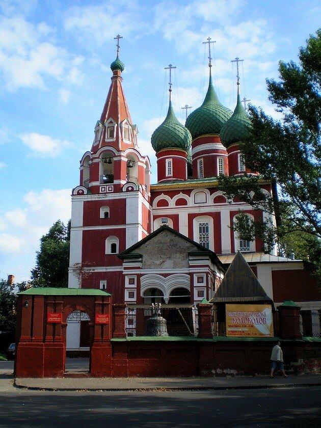 Церковь Михаила Архангела. Ярославль