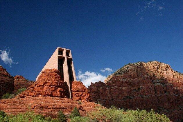 Часовня в скале (Chapel In The Rock). Аризона, США