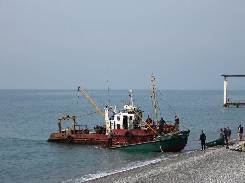 Адлер. Море