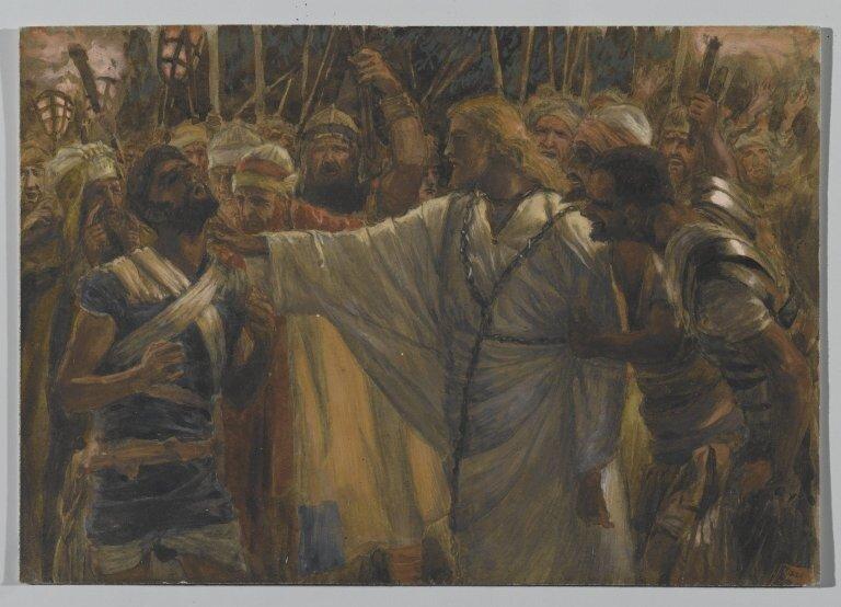 Brooklyn Museum: The Healing of Malchus (La guérison de Malchus)