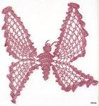 Вязаные бабочки(подборка) .