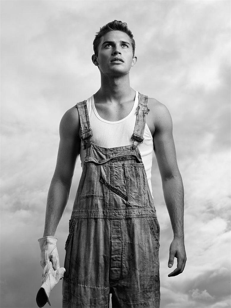 модель Шон Томсон / Sean Thomson, фотограф Richard Pier Petit
