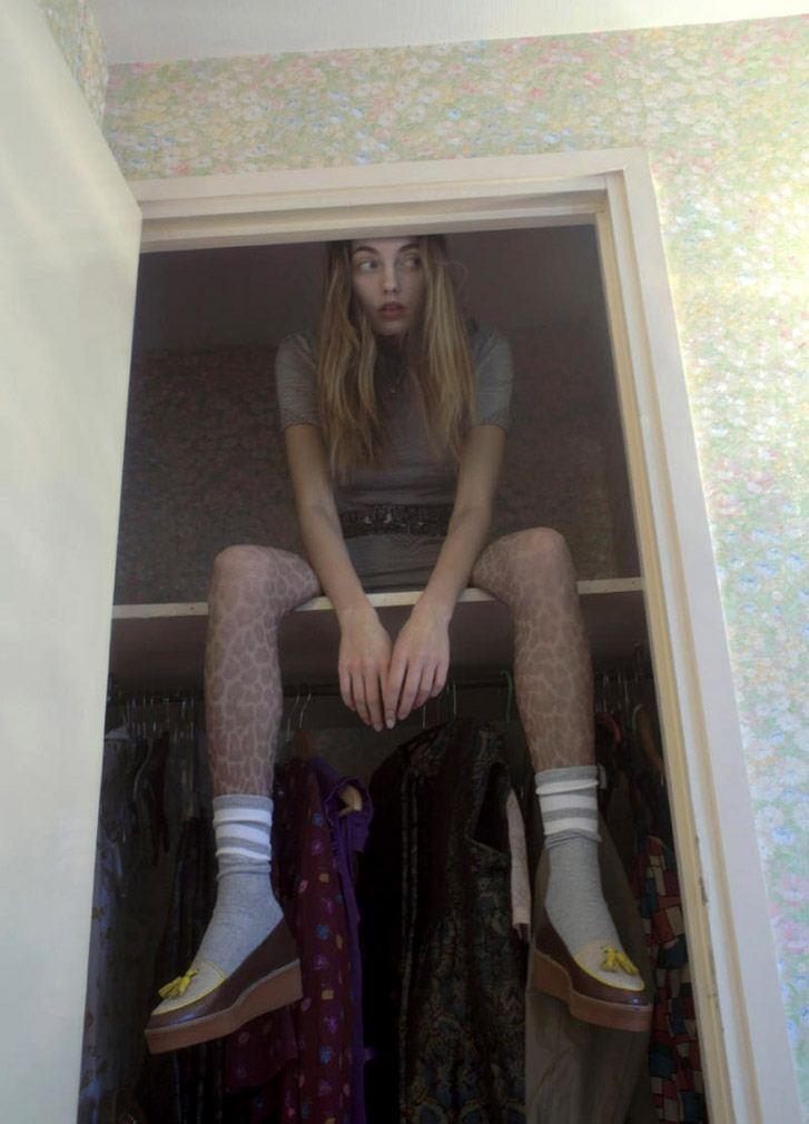 модель Алина Байкова / Alina Baikova, фотограф Karen Inderbitzen-Waller
