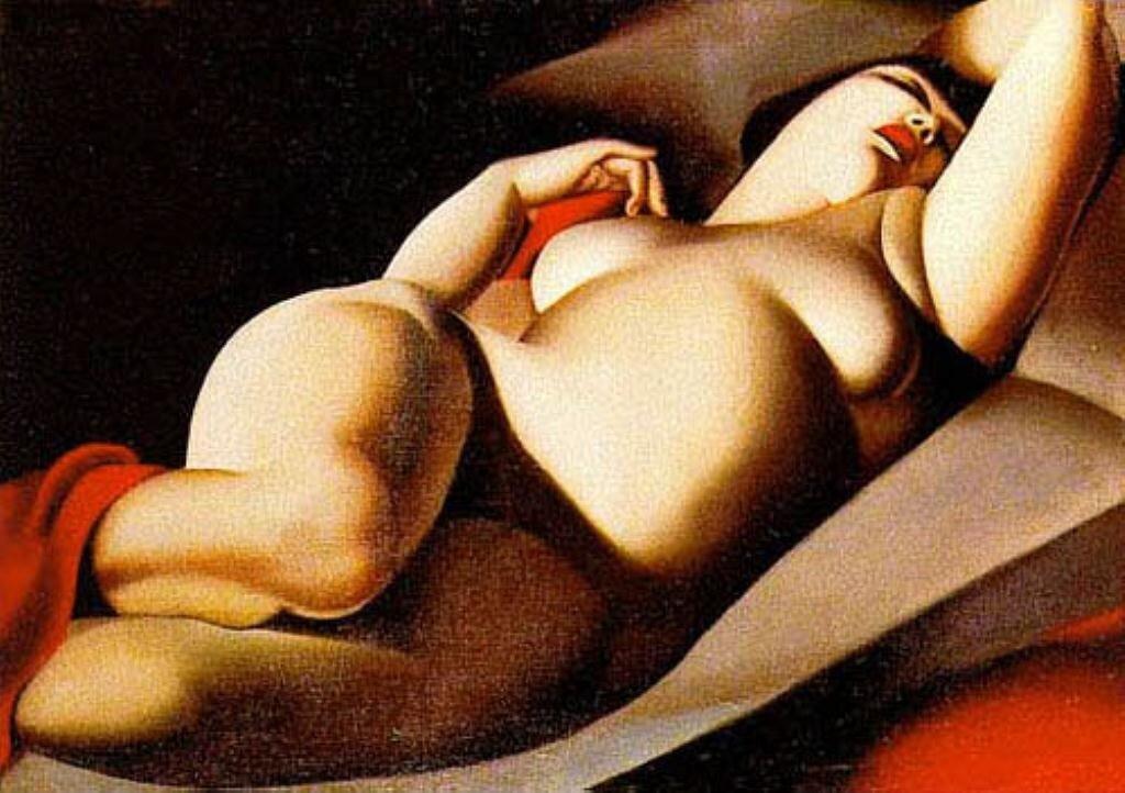 Лемпицка. Прекрасная Рафаэла. 1927 г.