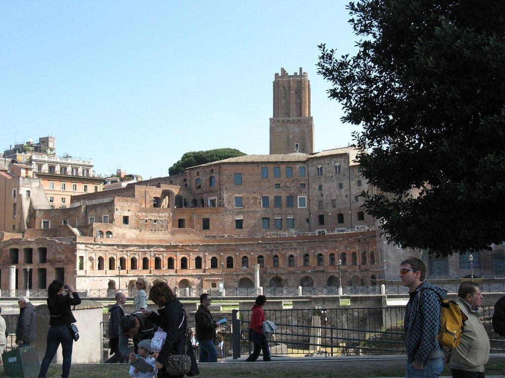 Рим. Рынок Траяна (Mercati di Traiano)