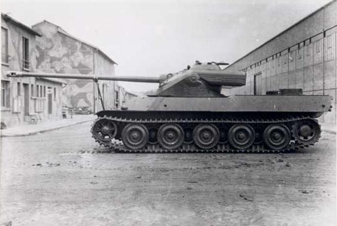 Picture of the AMX-50 - Heavy Tank