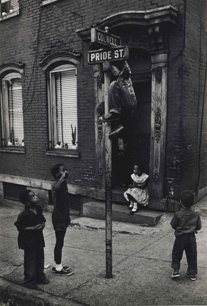 W. Eugene Smith. Pride Street, Pittsburgh, 1955-1956