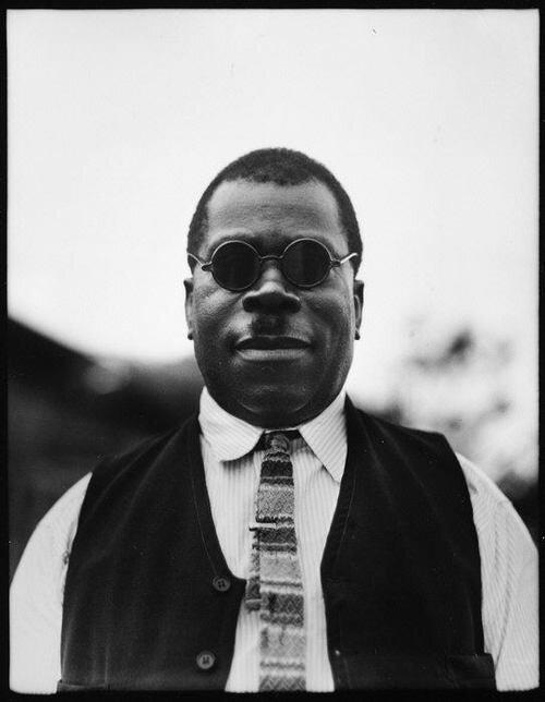 Walker Evans.Мужчина в очках,Флорида, 1934