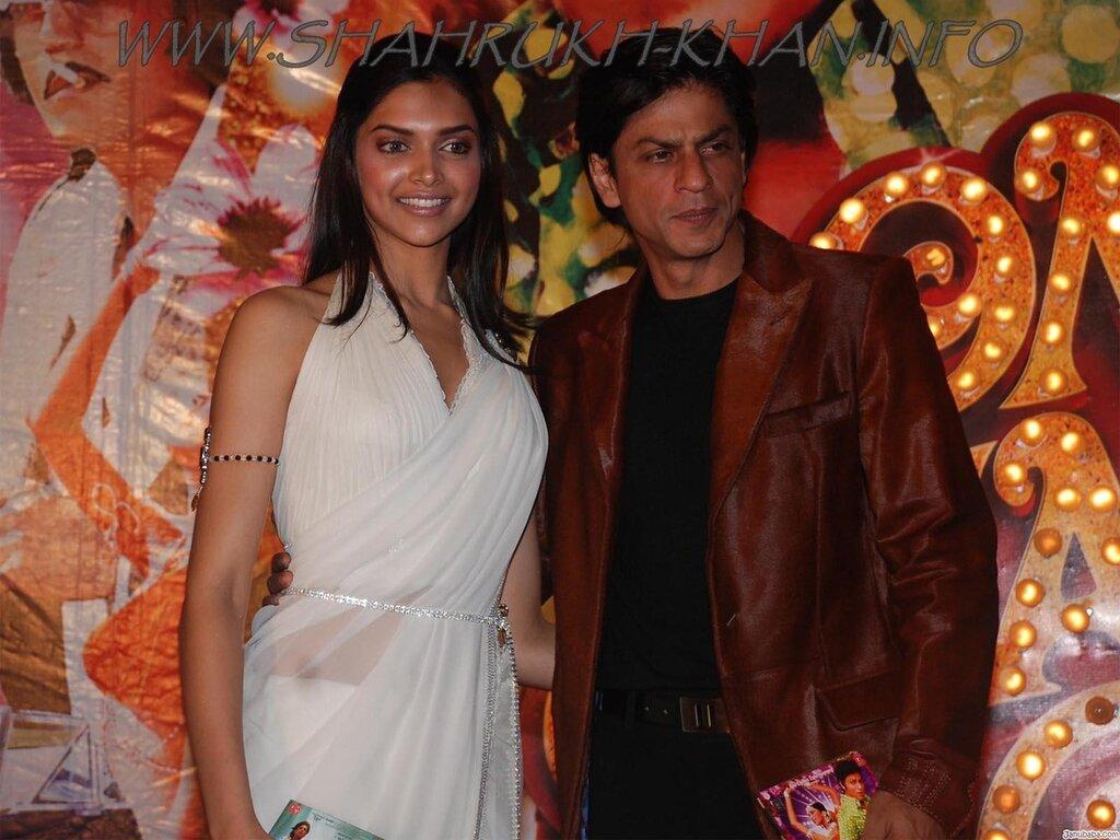 SRK & Deepika Padukone - OM SHANTI OM cd release 2007