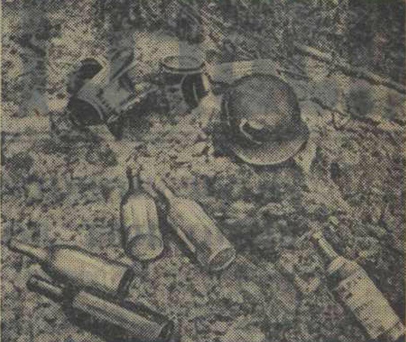 пьяные немцы, алкоголь в немецкой армии, «Известия», 3 августа 1941 года