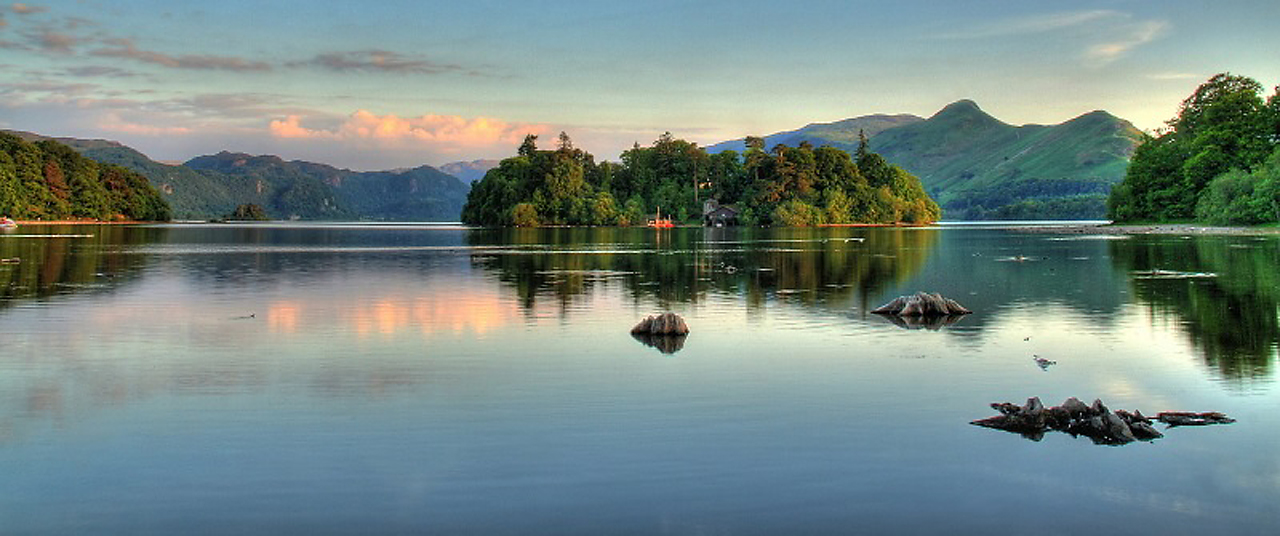 Озеро Деруэнт-Уотер, Англия, фотограф Алан Хинклэф,