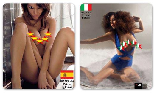Страны-участницы Евро-2012 в журнале Playboy представляют его модели / Плейбой Польша, июнь 2012