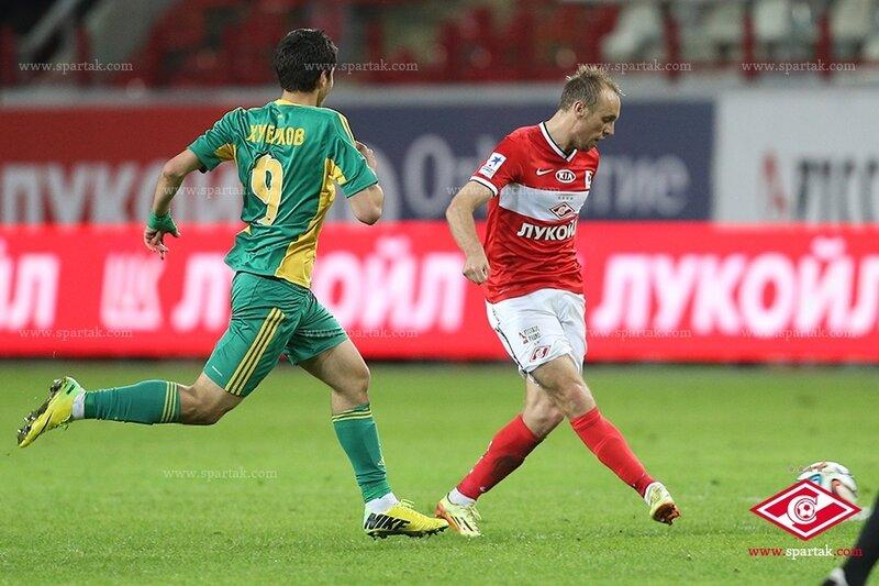 «Спартак» vs «Кубань» 0:2