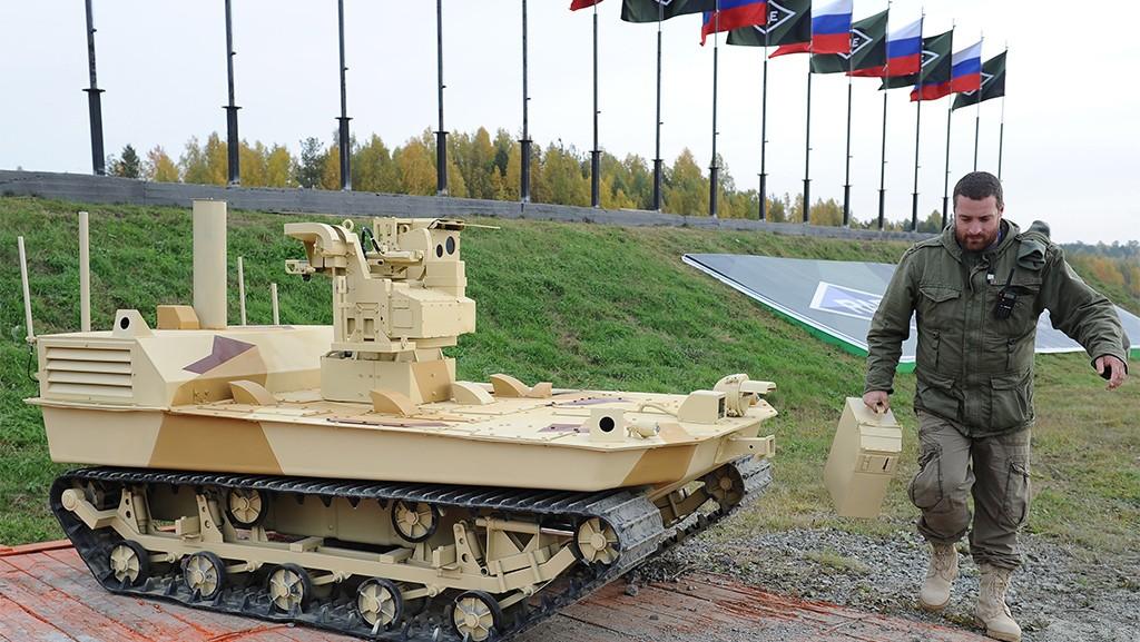 Российские боевые роботы.