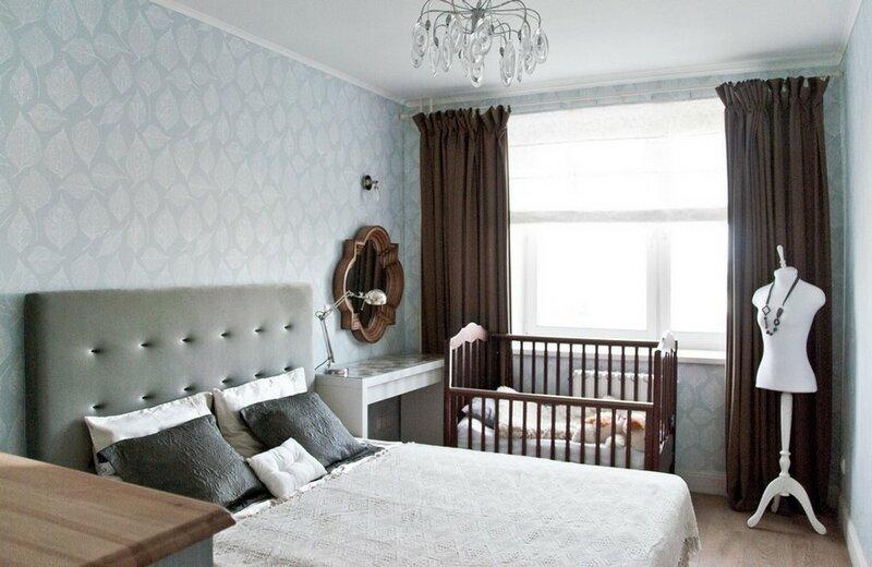 Комната 16 кв.м дизайн спальня в одной