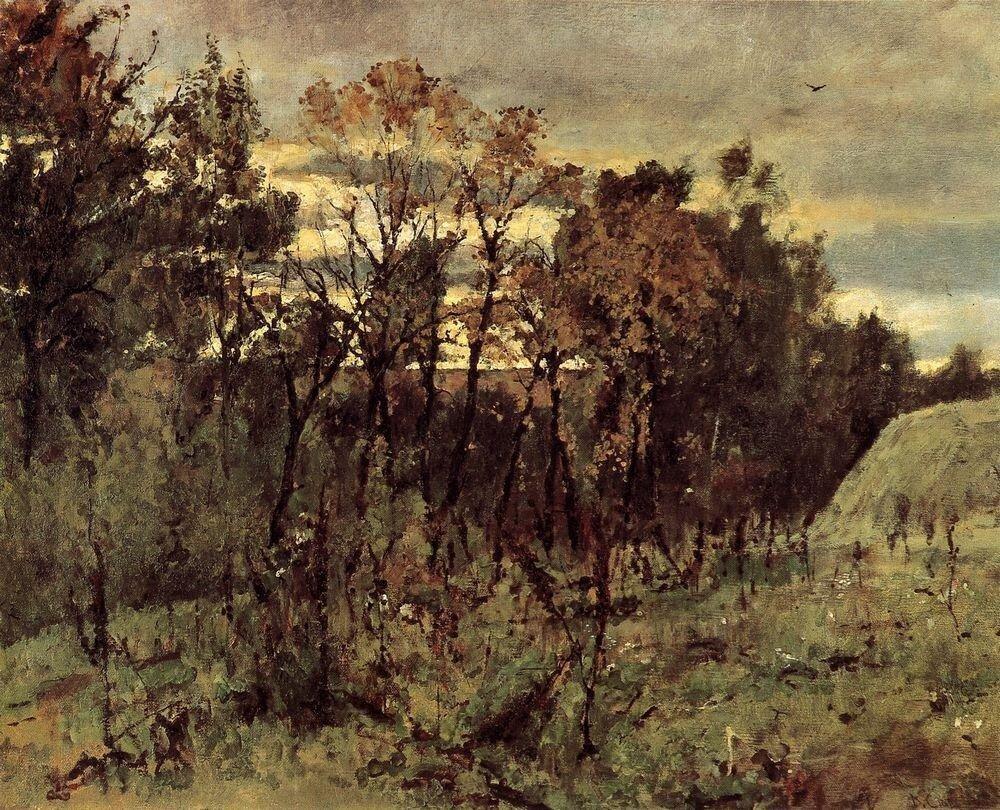 Осенний вечер. Домотканово. 1886.jpg