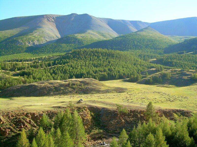 Вид на гору Табожок