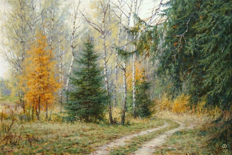 Олег Анастасов. Осень в Авдотьине