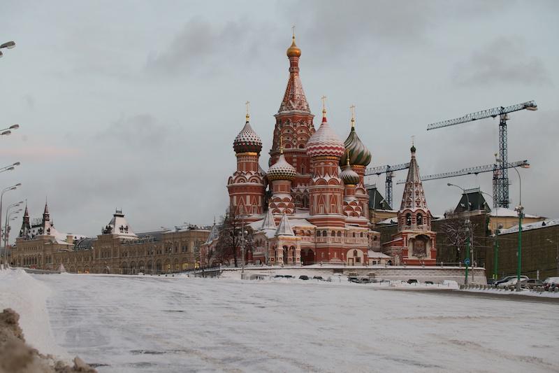 Москва в снегу / Snow in Moscow