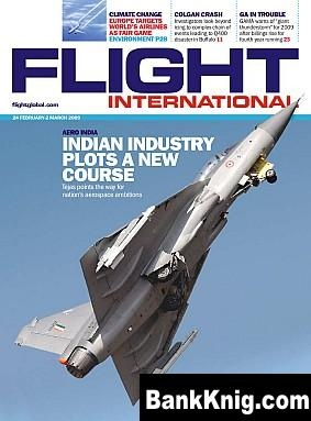 Журнал Flight International 2009-02-24 (Vol 176 No 5177) pdf (300 dpi) 2480x3357 38,4Мб