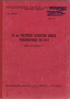 23 mm poczworna samobiezna armata przeciwlotnicza ZSU-23-4