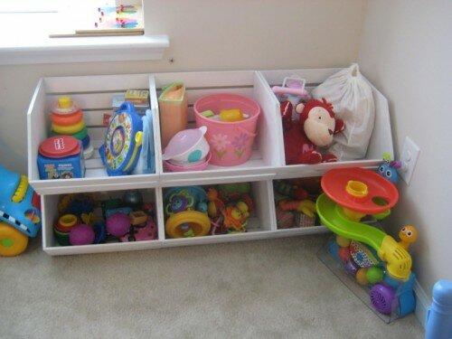 Идеи для хранения детских вещей.