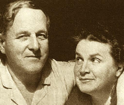 Вера Мухина и Алексей Замков