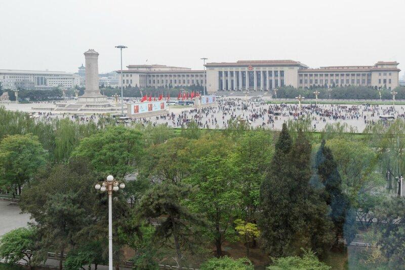 Площадь Тяньаньмэнь и Дом народных собраний, Пекин