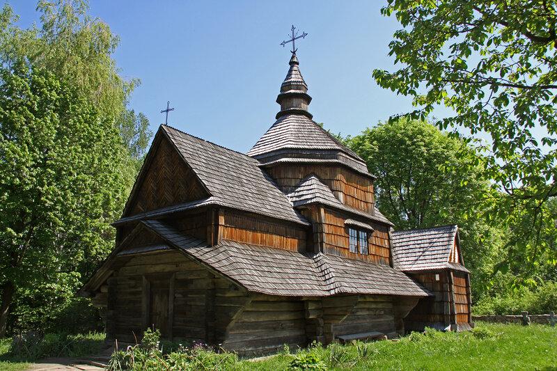Пирогово. Церковь Святого Николая из села Зеленое