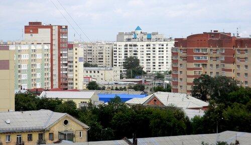 Вид с 12-16 этажей дома по ул. Техникумовской, 19