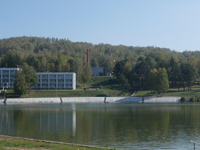 Зенковский парк - Вид на озеро