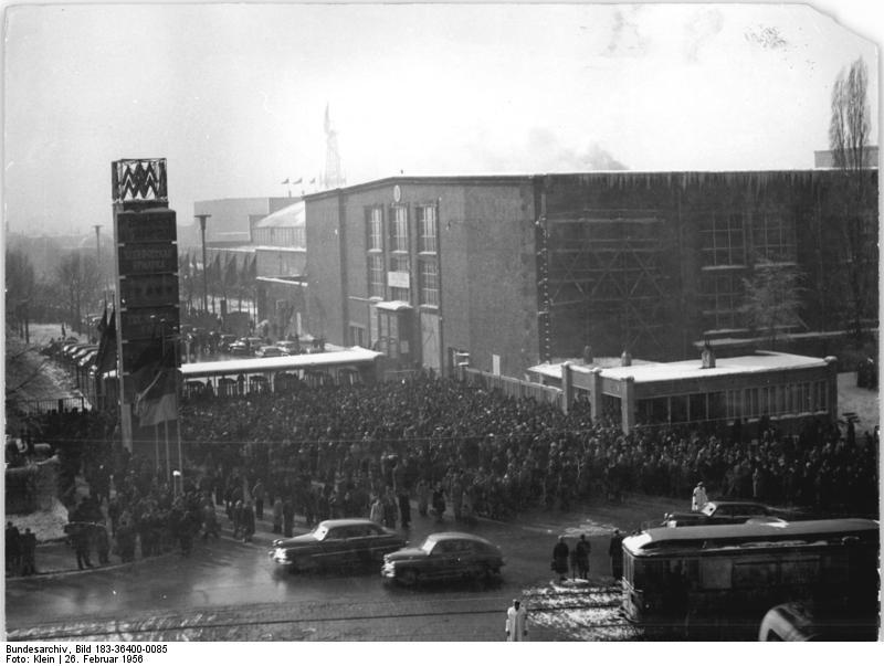 Leipzig, Frьhjahrsmesse, Technische Messe