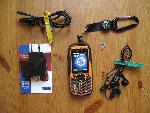 Texet Tm 510r обзор недорогого оранжевого водонепроницаемого