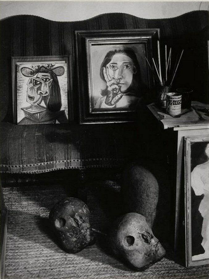 1943. В мастерской на улице Великих Августинцев