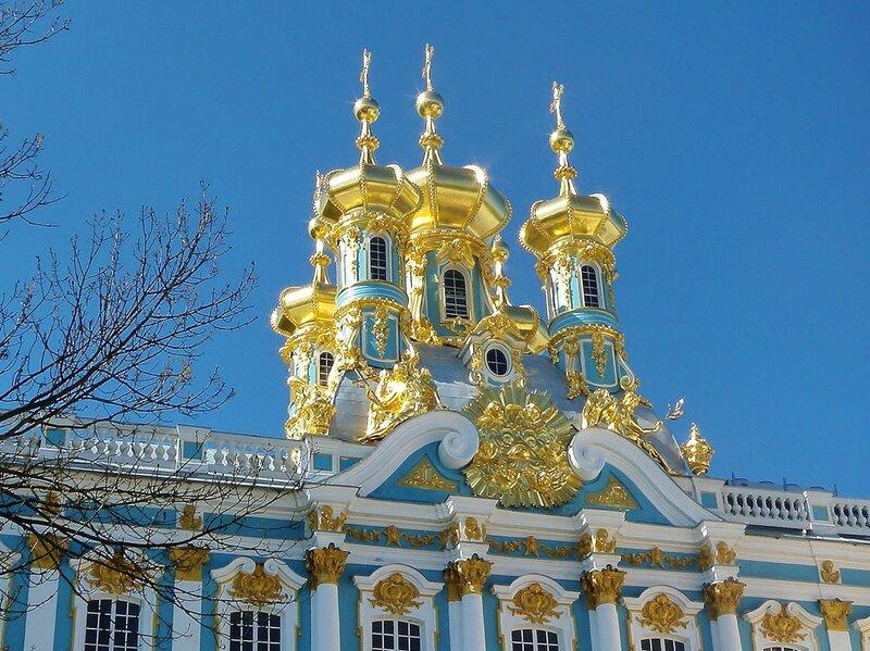 Купола Дворцовой церкви