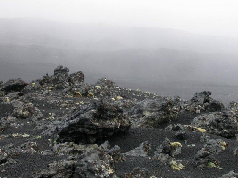 Вулканический шлак, Толбачик, Камчатка