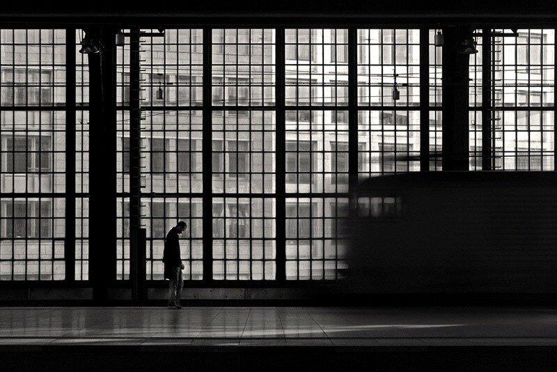 Слияние геометрии / человека / жанра - в бесподобном фотоарте Kai.Z.