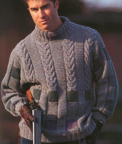 Рхема 3. мужские свитера вязание спицами схемы. схемы вязания мужских.