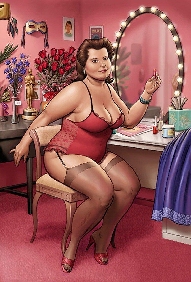Толстушки красивые женщины 25 фотография