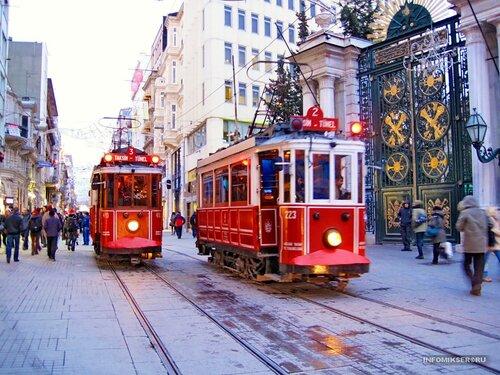 Ретро-разъезд (Стамбул, Турция)