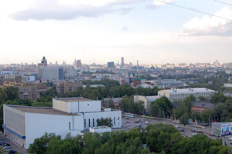 Московские крыши часть III - Варшавское шоссе
