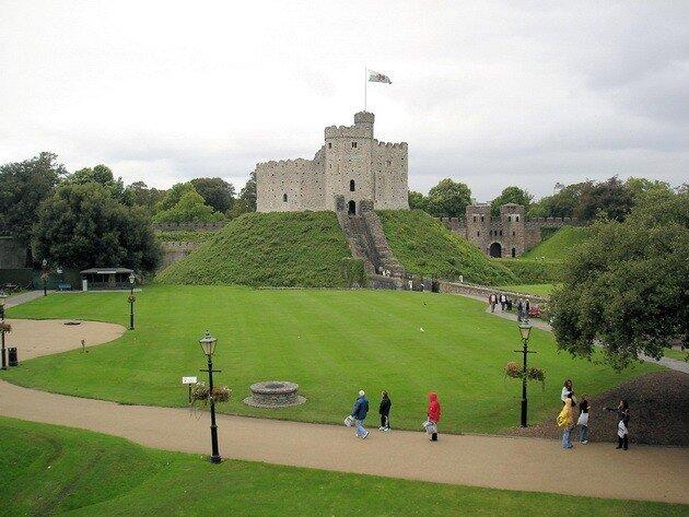 Замок Кардифф. Великобритания